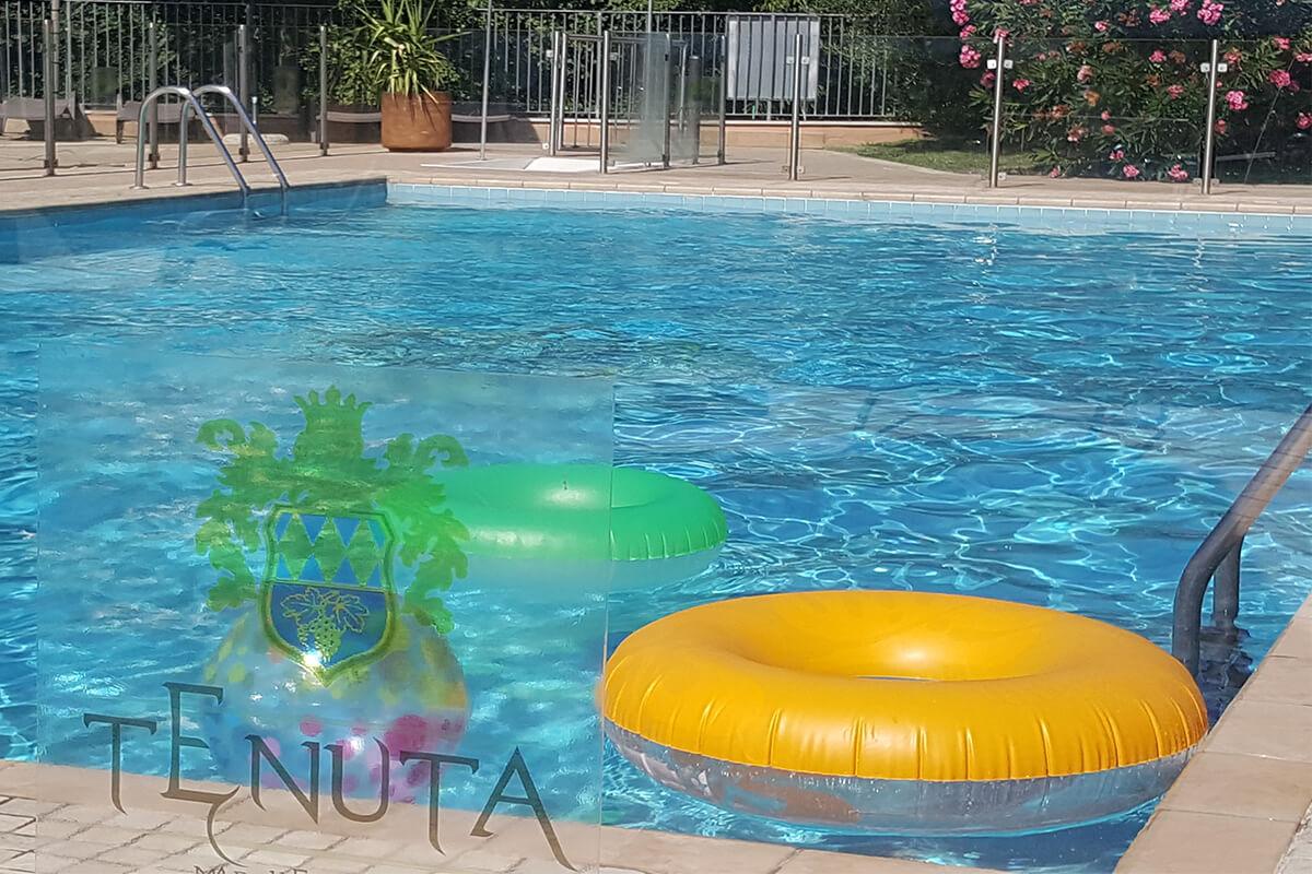 Agriturismo con piscina gonfiabili Tenuta Marchesi Fezia