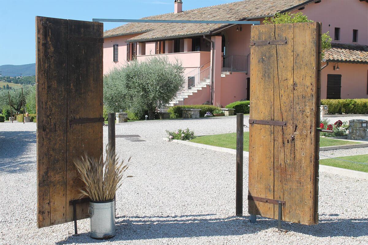 Agriturismo country house umbria ingresso tenuta marchesi fezia