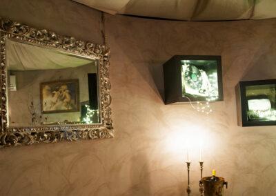 Cena a lume di candela specchio Io & Te piccolissimo ristorante
