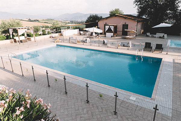 La piscina ville per matrimoni tenuta marchesi fezia