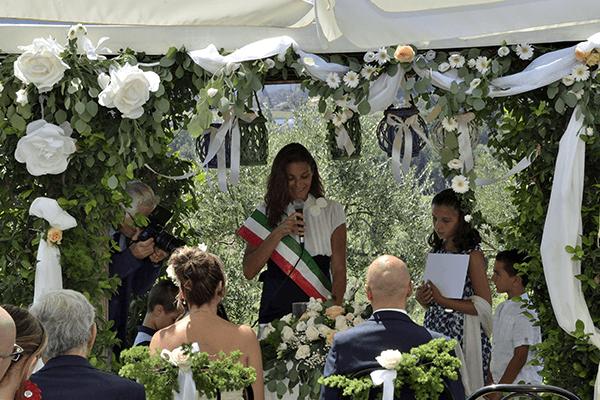 matrimonio civile alla tenuta Marchesi Fezia