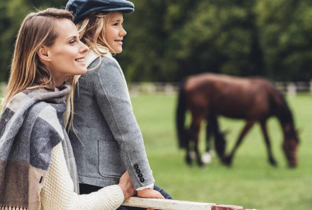 Agriturismo con cavalli Umbria Tenuta Marchesi Fezia