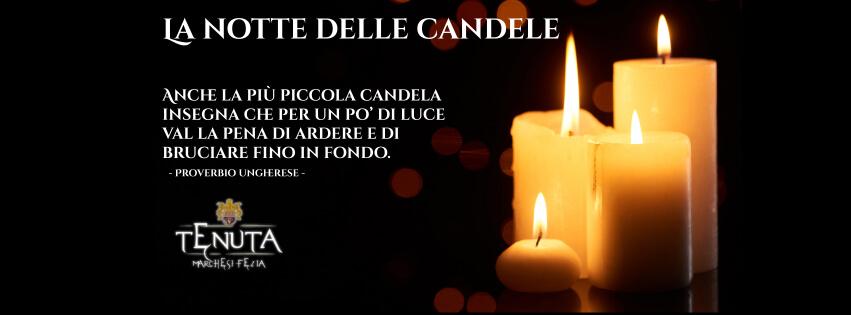 slide notte delle candele